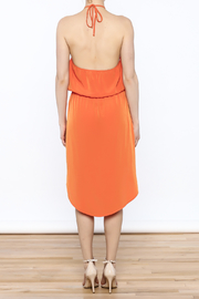 Glam Game Day Dress - Back cropped