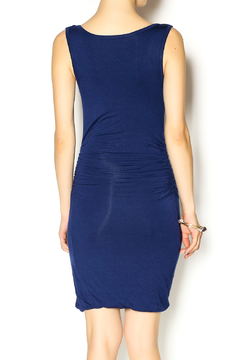 Glam Navy Jersey Dress - Alternate List Image