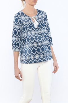 Glam Western Tassel Blouse - Product List Image