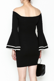 Glamazon Bell Sleeve Dress - Back cropped