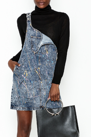 Glamorous Denim Overall Dress - Product Mini Image