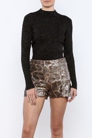 Glamorous Gold Speckled Turtleneck - Product Mini Image