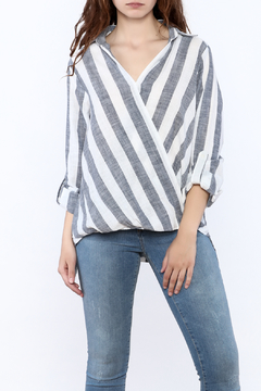 Shoptiques Product: Striped Nautical Blouse