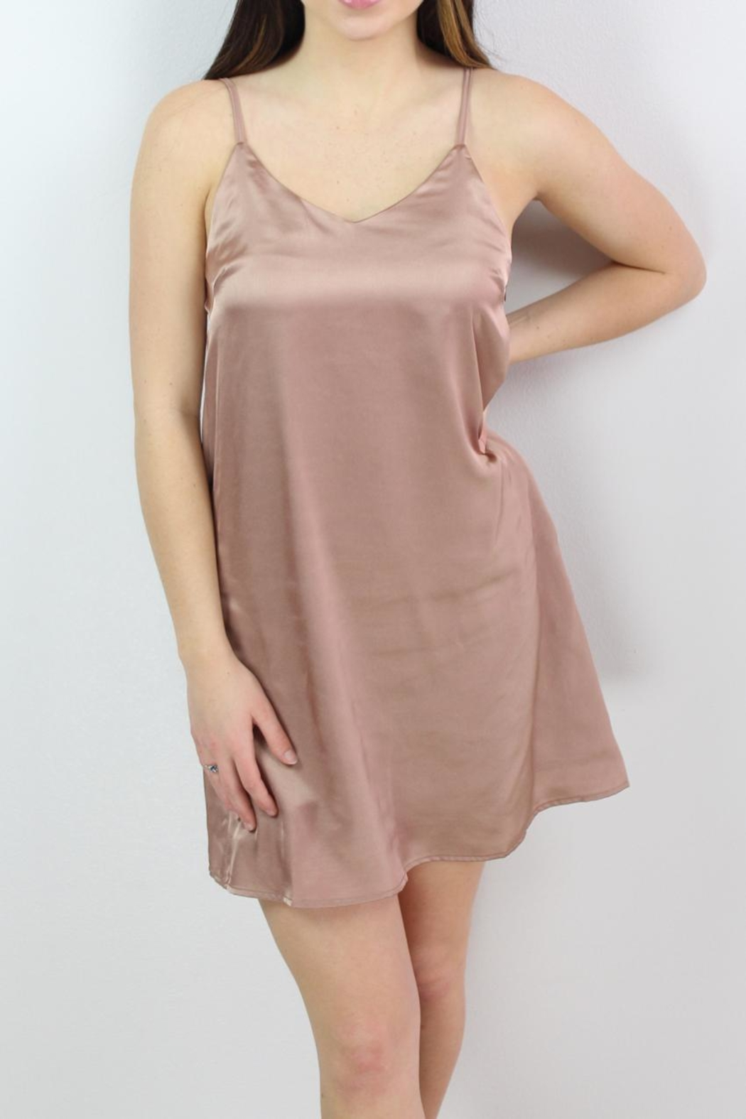Glamorous Sweetheart Slip Dress - Main Image