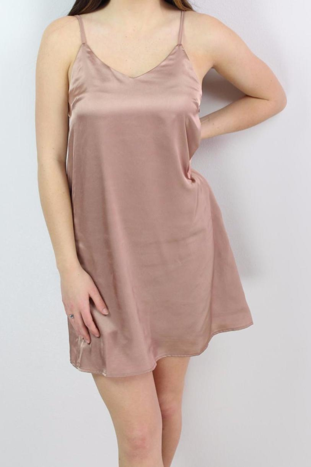 Glamorous Sweetheart Slip Dress - Side Cropped Image