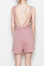Glare Low Back Romper - Back cropped