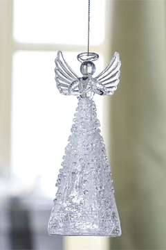 Gift Craft Glass Angel Ornament - Alternate List Image