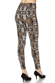 New Mix Glass Art Legging - Side cropped