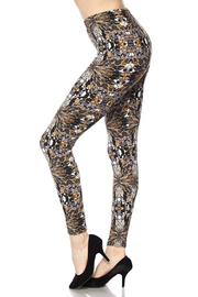 New Mix Glass Art Legging - Front cropped