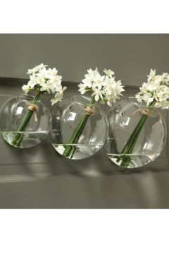 Homart Glass Bubble Wall Vase - Product List Image