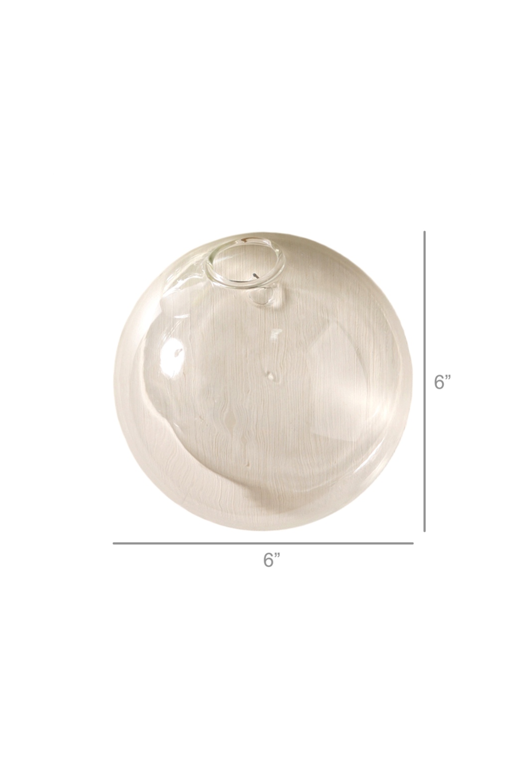 Homart Glass Bubble Wall Vase - Side Cropped Image