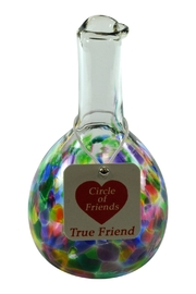 Henrietta Glass Glass Friends Vase - Front cropped