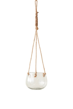 Creative Co-Op Glass Hanging Vase - Product List Image