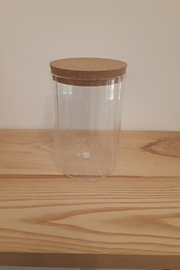 Bloomingville Glass Jar - Front cropped