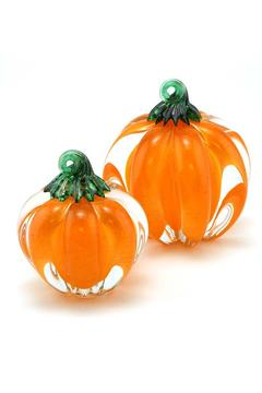 Shoptiques Product: Glass Pumpkin Small
