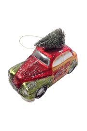 GHome2 Glass Roadster Ornament - Front cropped