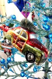 GHome2 Glass Roadster Ornament - Side cropped