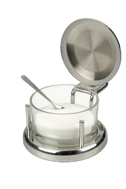 Bekah Kate's (Kitchen, Kids & Home) Glass Salt Server - Product Mini Image