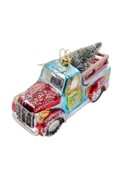 GHome2 Glass Truck Ornament - Front cropped