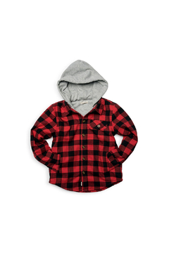 Shoptiques Product: Glen Hooded Shirt