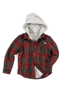 Appaman Glen Hooded Shirt - Product List Image