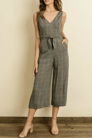 dress forum Glen Plaid Jumpsuit - Product Mini Image