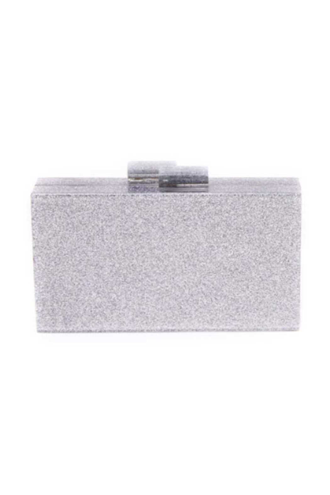 Like Dreams Glitter Clutch - Front Cropped Image