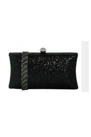 JNB Glitter Evening Box Clutch - Front cropped