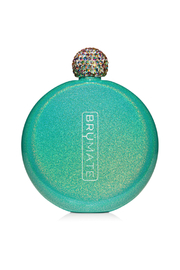 Brumate GLITTER FLASK-PEACOCK - Front cropped
