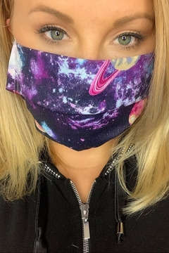 deannas Glitter Galaxy Mask With Filter Pocket - Alternate List Image