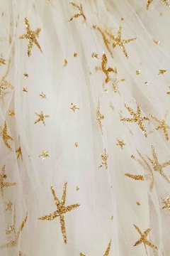 Doe a Dear Glitter-Gold-Starfish Tutu Skirt - Alternate List Image