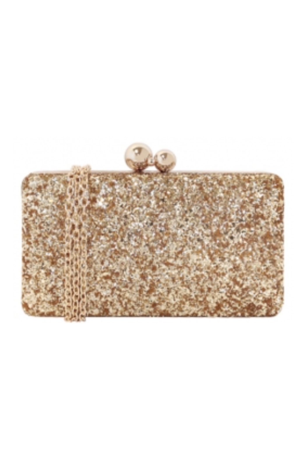 JNB Glitter Hard Case - Front Cropped Image