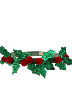 Shoptiques Product: Glitter Holly Crown