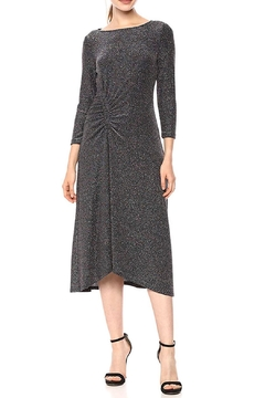 Donna Morgan Glitter Knit Dress - Product List Image