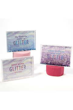 Two's Company Glitter Liquid Frame - Product List Image