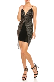 Kimcine Glitter Mini Dress - Product Mini Image
