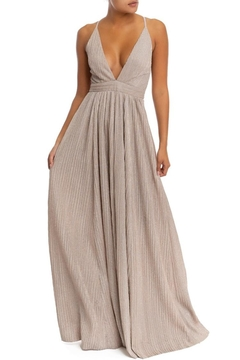 luxxel Glitter Pleated Maxi - Product List Image