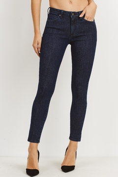 Just Black Denim Glitter Skinny Jean - Product List Image