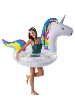 BigMouth Inc Glitter Unicorn Poolfloat - Product List Image