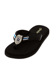 Glitterflops Police Shield Flip Flops - Product Mini Image