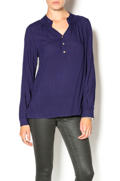 Glitz & Glam Boutique Three Button Henley - Product List Image