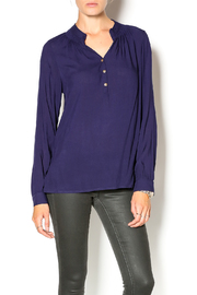 Glitz & Glam Boutique Three Button Henley - Product Mini Image