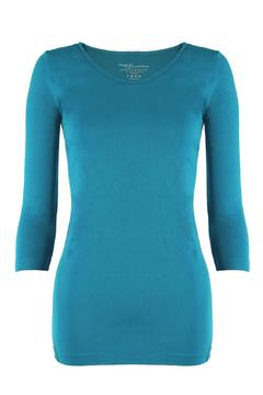 Shoptiques Product: 3/4-Sleeve Seamless Top