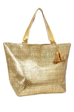 Shoptiques Product: Metallic Beach Tote
