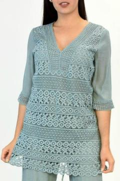 Glitz & Glam Boutique Lace Tunic Dress - Product List Image