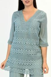 Glitz & Glam Boutique Lace Tunic Dress - Product Mini Image