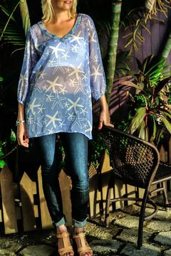 Glitz & Glam Boutique Starfish Cover Up Tunic - Product List Image