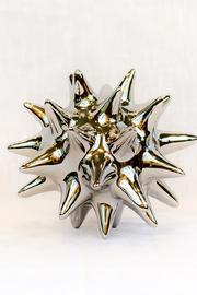 Global Views Bright Silver Urchin - Product Mini Image