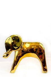 Global Views Gold Elephant Statuette - Product Mini Image