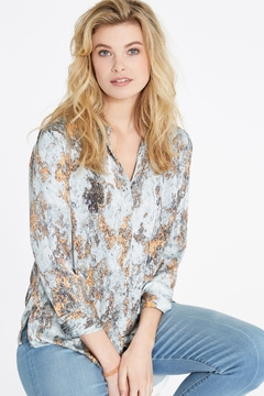 Nic +Zoe Globe Trotter Blouse - Product List Image